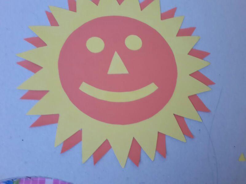 Kartondan Güneş Yapımı (Çocuk Odası İçin)