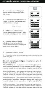 Wicom W43 Otomatik Ayarlama