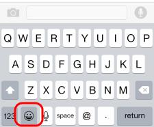 iPhone-Emoji-klavye-kullanma