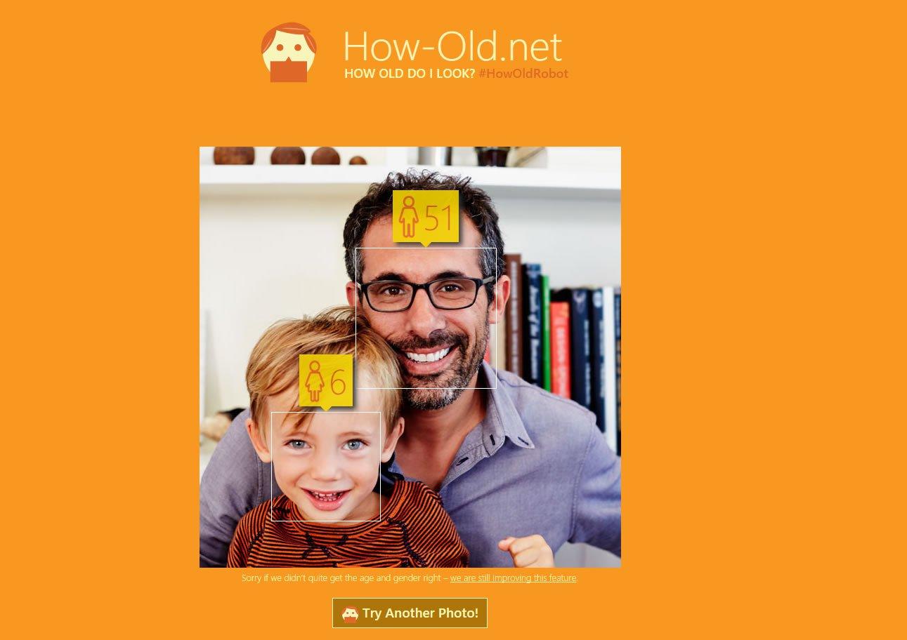Microsoft How-Old