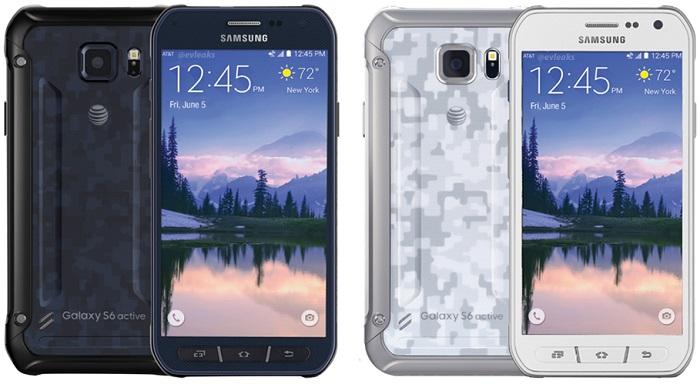 Samsung Galaxy , Samsung Galaxy S6 , Samsung Galaxy S6 Active